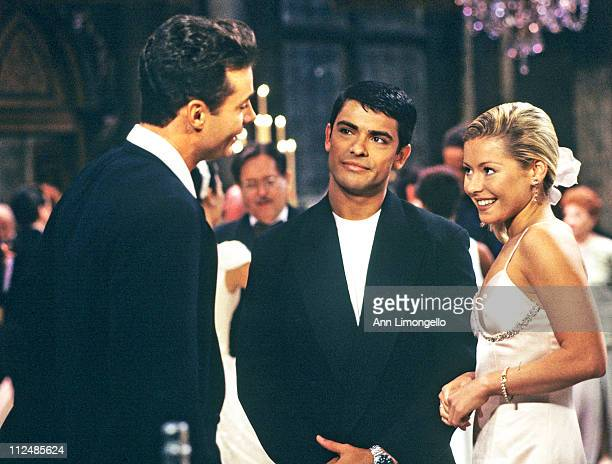 CHILDREN 6/6//96Brian Mateo and Hayley at Noah and Julia's wedding on Walt Disney Television via Getty Images Daytime's All My Children All My...