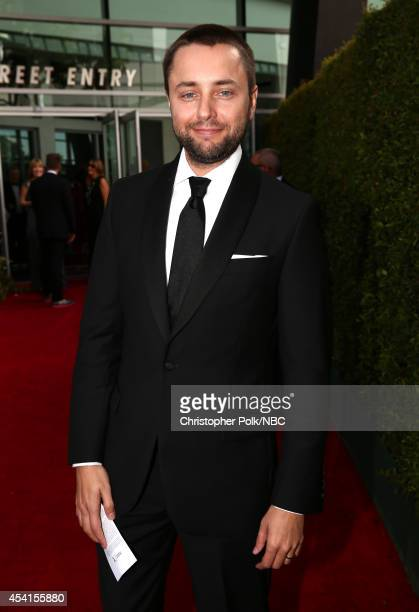 66th ANNUAL PRIMETIME EMMY AWARDS Pictured Actor Vincent Kartheiser arrives to the 66th Annual Primetime Emmy Awards held at the Nokia Theater on...