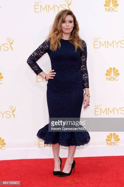 66th ANNUAL PRIMETIME EMMY AWARDS Pictured Actress Natasha Lyonne arrives to the 66th Annual Primetime Emmy Awards held at the Nokia Theater on...
