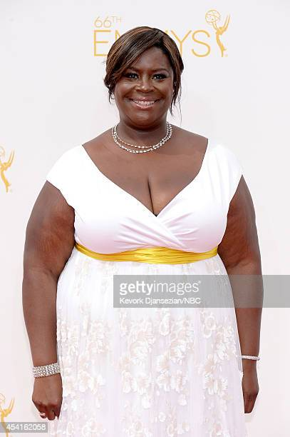 66th ANNUAL PRIMETIME EMMY AWARDS -- Pictured: Actress Retta arrives to the 66th Annual Primetime Emmy Awards held at the Nokia Theater on August 25,...