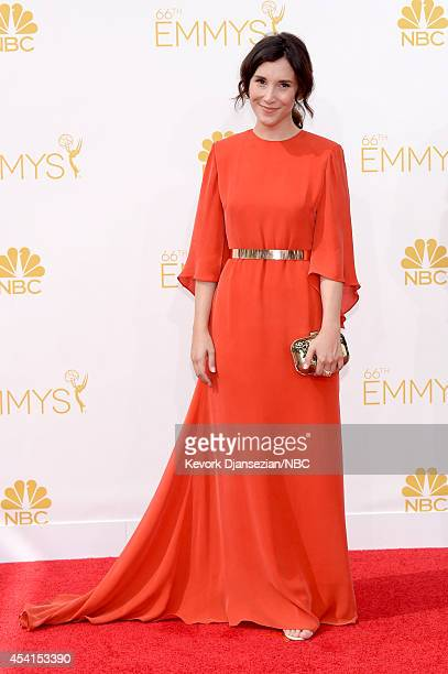 66th ANNUAL PRIMETIME EMMY AWARDS Pictured Actress Sibel Kekilli arrives to the 66th Annual Primetime Emmy Awards held at the Nokia Theater on August...
