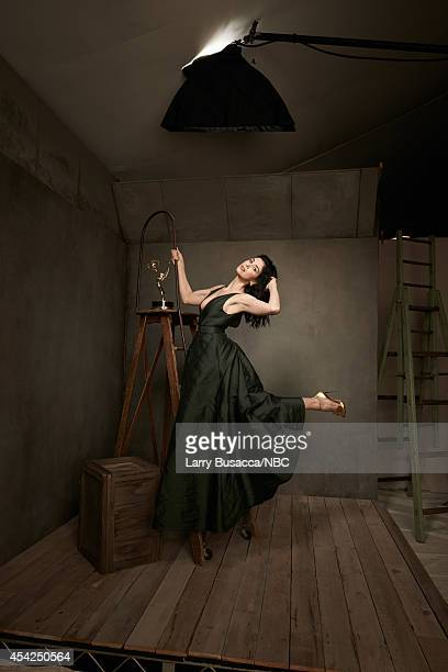 66th ANNUAL PRIMETIME EMMY AWARDS Pictured Actress/writer/comedian Sarah Silverman from 'Sarah Silverman We Are Miracles' poses in the NBC/People...