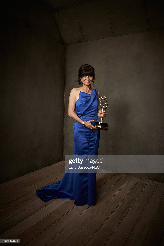 66th ANNUAL PRIMETIME EMMY AWARDS -- Pictured: Director Gail Mancuso poses in the NBC/People photo booth during the 66th Annual Primetime Emmy Awards held at the Nokia Theater on August 25, 2014.
