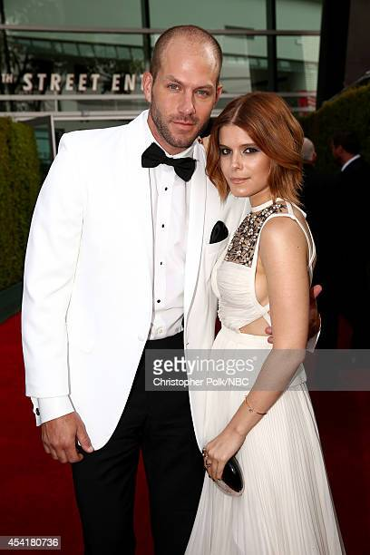 66th ANNUAL PRIMETIME EMMY AWARDS Pictured Kate Mara arrives to the 66th Annual Primetime Emmy Awards held at the Nokia Theater on August 25 2014