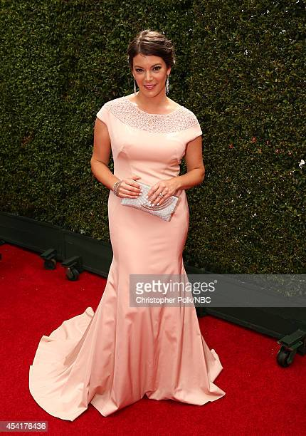 66th ANNUAL PRIMETIME EMMY AWARDS Pictured TV personality Gail Simmons arrives to the 66th Annual Primetime Emmy Awards held at the Nokia Theater on...