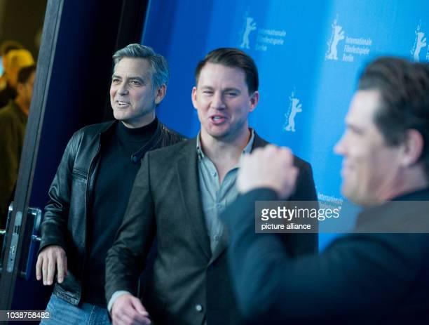 66th International Film Festival in Berlin Germany 11 February 2016 Photo call _Hail Ceasar_ George Clooney Channing Tatum Josh Brolin The film is...