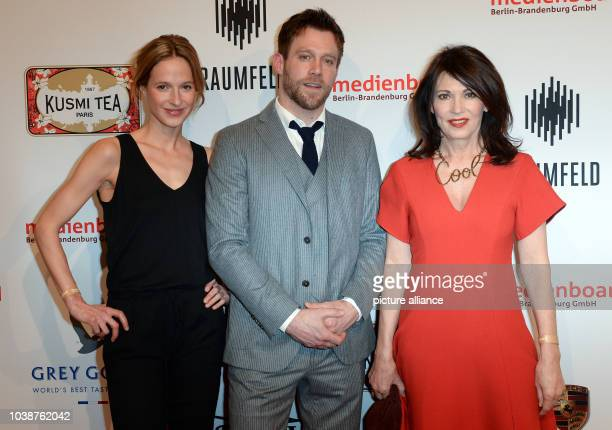 66th International Film Festival in Berlin Germany 13 February 2016 Medienboard Anneke Kim Sarnau Ken Duken and Iris Berben The Berlinale runs from...