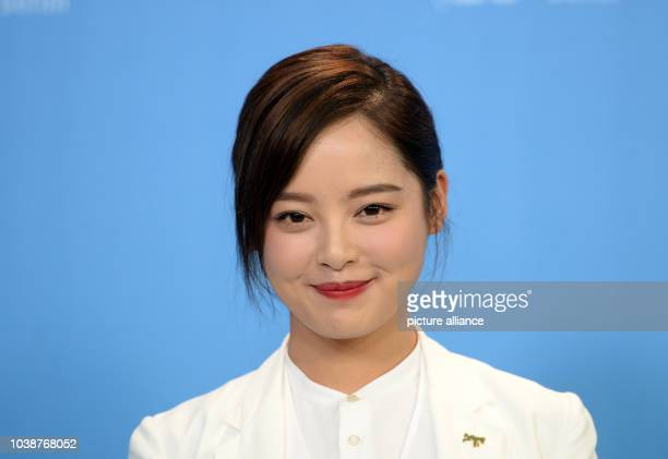 66th International Film Festival in Berlin Germany 15 February 2016 Photo call 'Chang Jiang Tu' Actress Xin Zhi Lei The film runs in competition at...