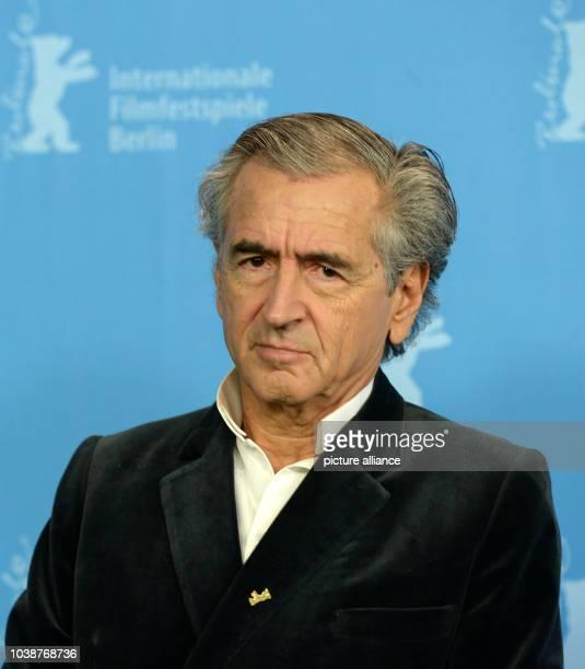 66th International Film Festival in Berlin Germany 15 February 2016 Photo call 'Smrt u Sarajevu/Mort à Sarajevo' author BernardHenri Levy The film is...