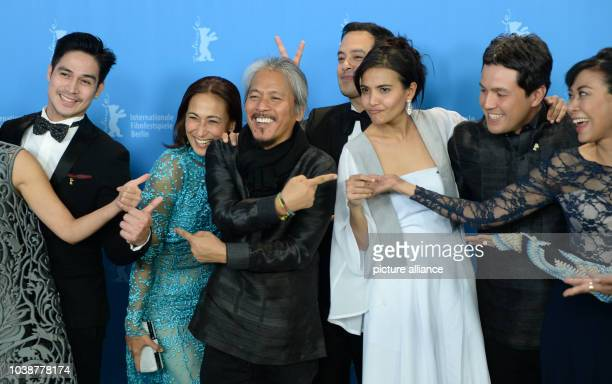 66th International Film Festival in Berlin Germany 18 February 2016 Photo Call 'Hele Sa Hiwagang Hapis' Piolo Pascual Cherie Gil Director Lav Diaz...
