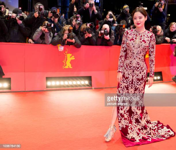 66th International Film Festival in Berlin Germany 20 February 2016 Closing and award ceremony Xin Zhi Lei arriving The Berlinale runs from 11...