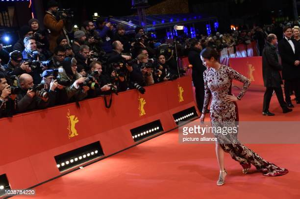 66th International Film Festival in Berlin Germany 20 February 2016 Closing and award ceremony ArrivalChinese ctress Xin Zhi Lei The Berlinale runs...