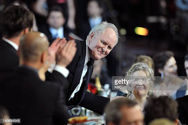 67th ANNUAL GOLDEN GLOBE AWARDS Pictured John Lithgow and wife Mary Yeager during the 67th Annual Golden Globe Awards held at the Beverly Hilton...