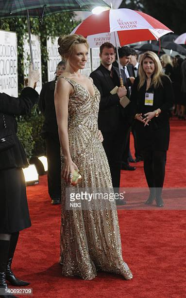 67th ANNUAL GOLDEN GLOBE AWARDS Pictured Toni Collette arrives at the 67th Annual Golden Globe Awards held at the Beverly Hilton Hotel on January 17...