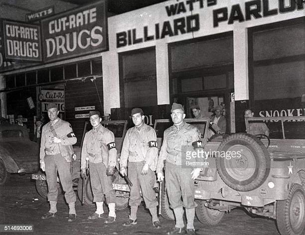 6/8/1943Los Angeles CA Central Jail was crowded with spectators as they watched Zoot Suiters being taken in At end of battle more than 60 alleged...
