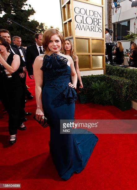 68th ANNUAL GOLDEN GLOBE AWARDS Pictured Amy Adams arrive at the 68th Annual Golden Globe Awards held at the Beverly Hilton Hotel on January 16 2011