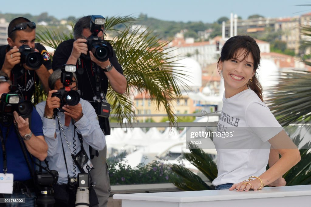 68th Cannes Film Festival. Actress and filmmaker Maiwenn posing during a photocall for her film 'My King' (French 'Mon Roi') on .