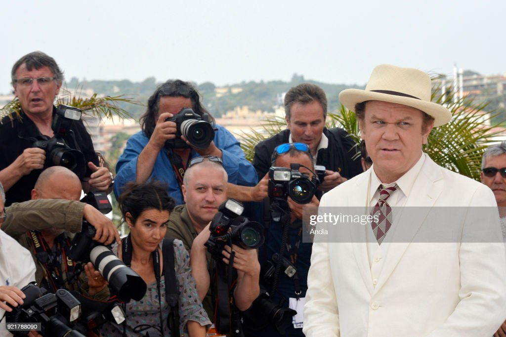 68th Cannes Film Festival. American actor John C. Reilly posing during a photocall for the film 'Tale of Tales', on .