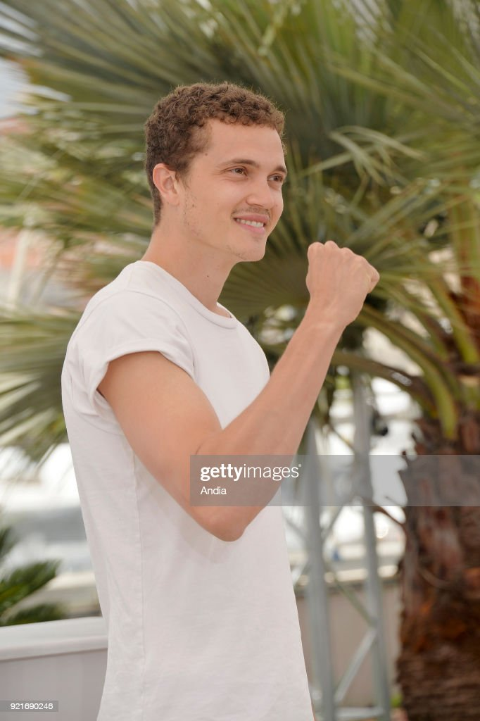 68th Cannes Film Festival. American actor Karl Glusman posing during a photocall for the film 'Love' on .