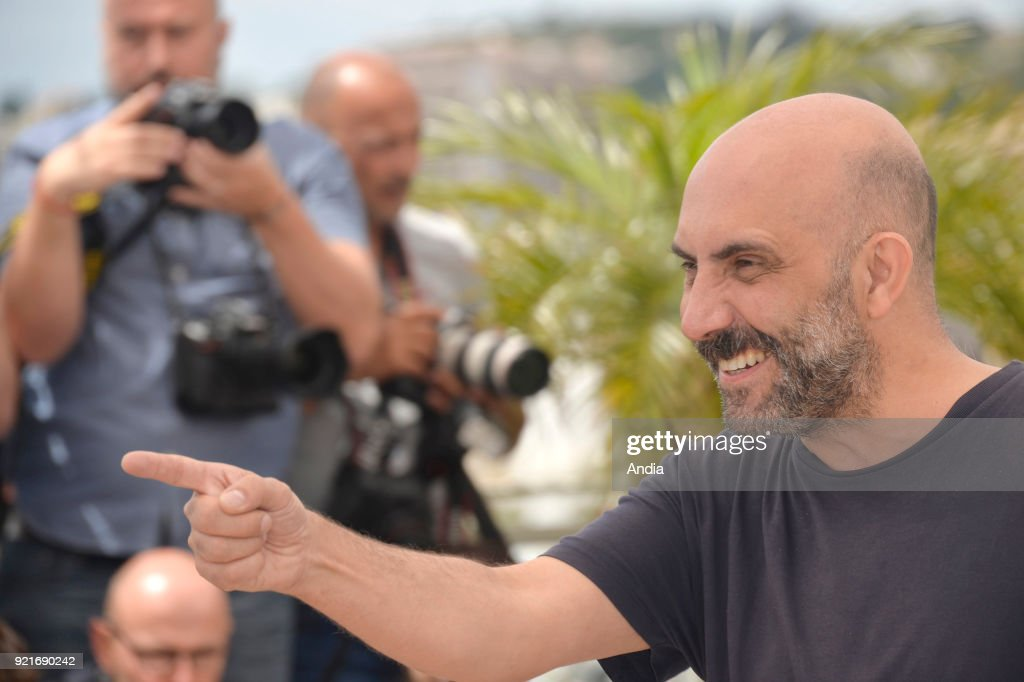 68th Cannes Film Festival. Argentinian filmmaker Gaspar Noe posing during a photocall for the film 'Love' on .