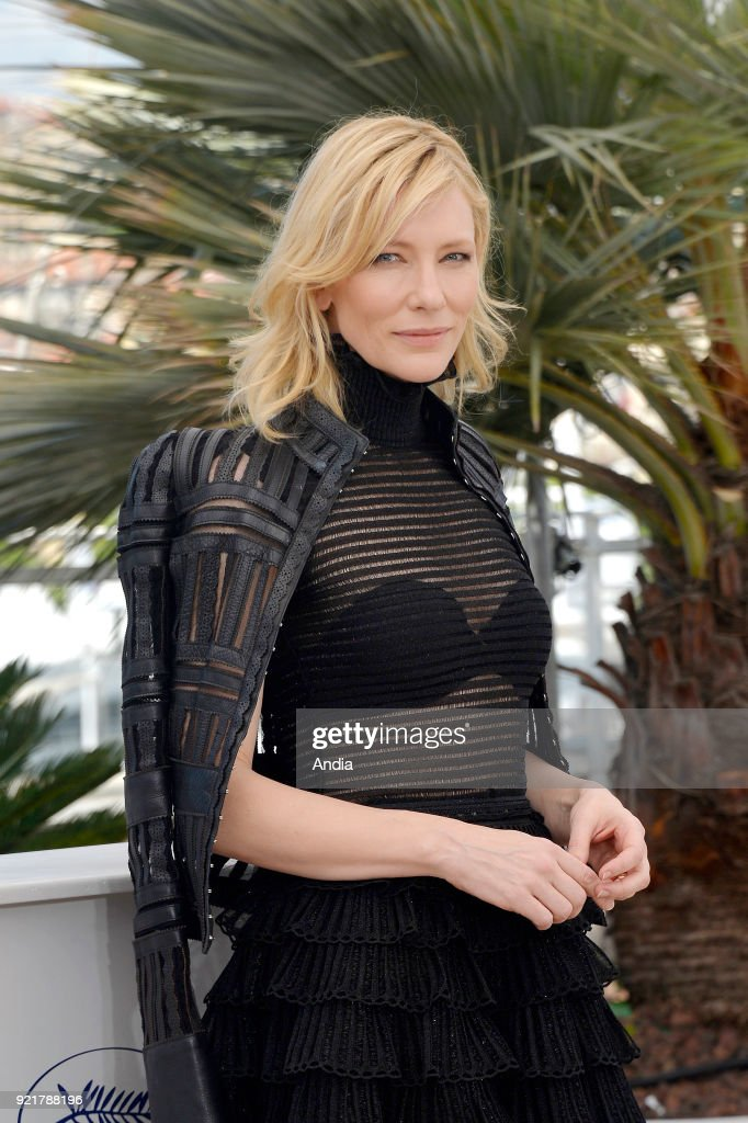 68th Cannes Film Festival. Australian actress Cate Blanchett posing during a photocall for the film 'Carol' on .