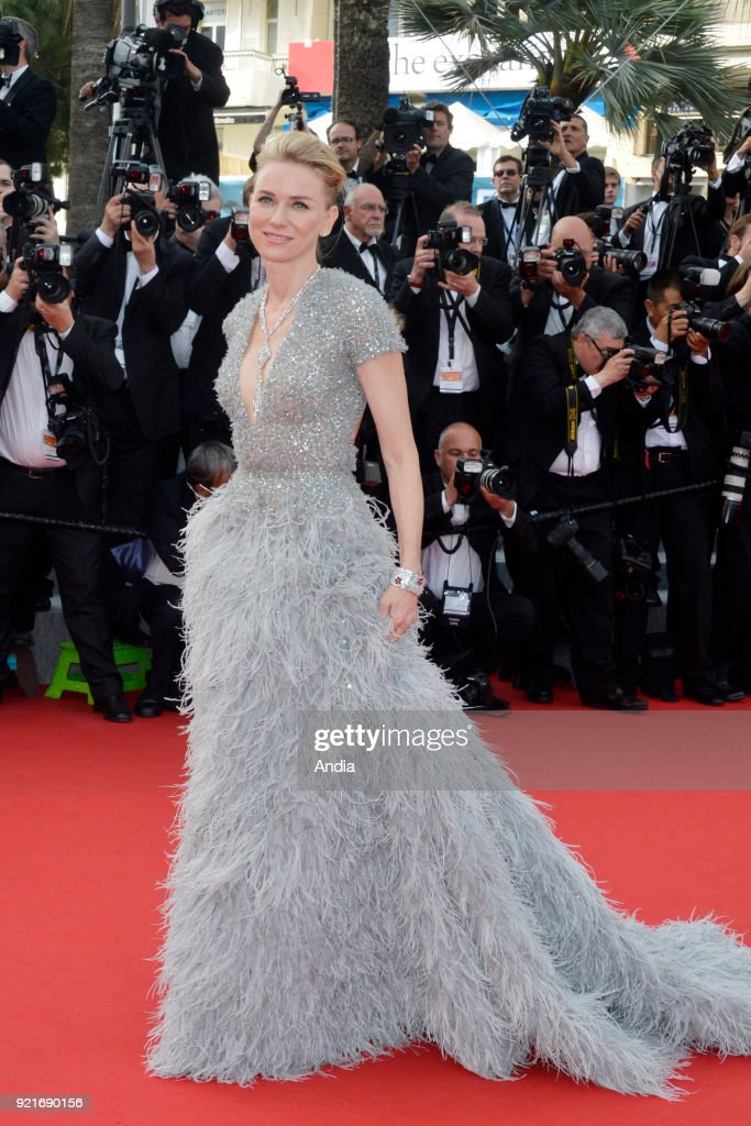 68th Cannes Film Festival. British-Australian actress Naomi Watts walking up the famous steps before the screening of the film 'Standing Tall' (French: 'La Tete haute') on .