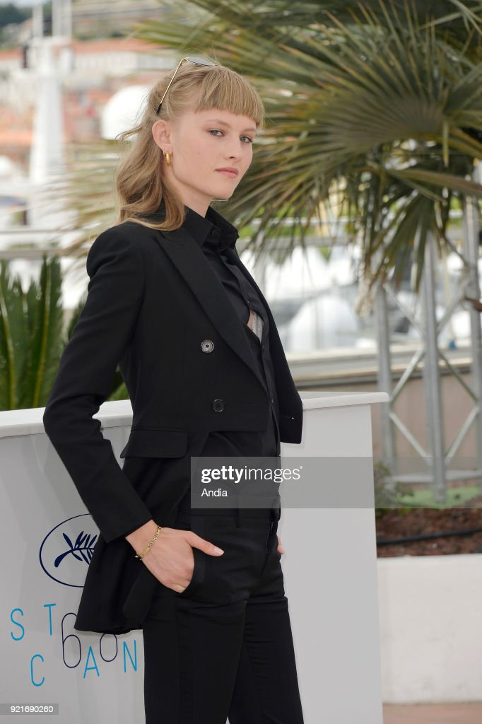 Actress Klara Kristin. : News Photo