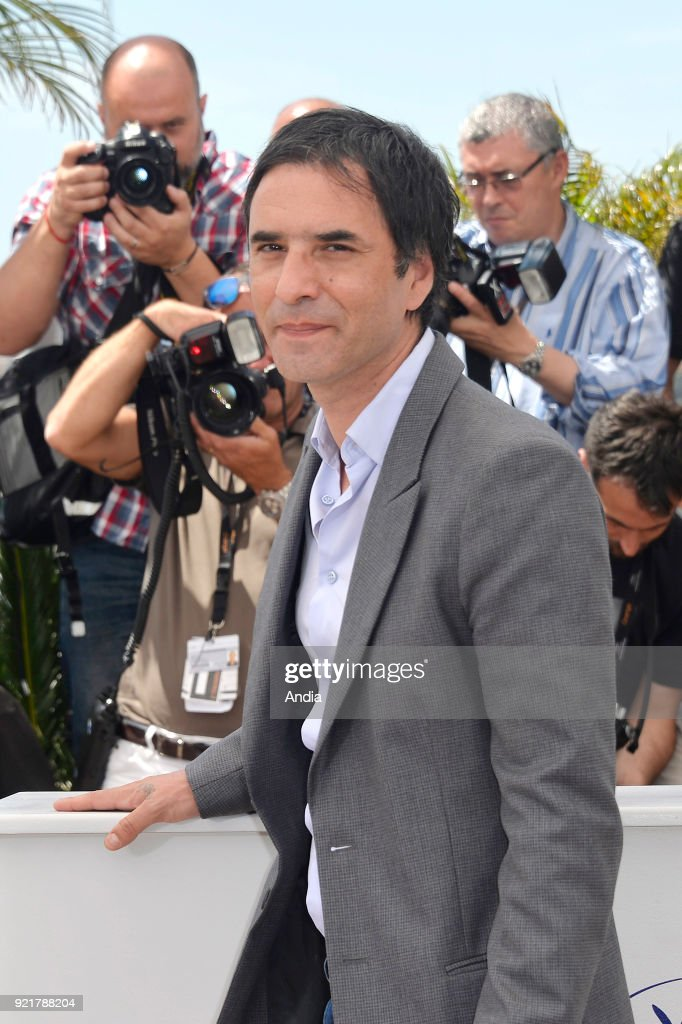 68th Cannes Film Festival. French actor, director and writer Samuel Benchetrit posing during a photocall for the film 'Asphalte - Macadam Story' on .