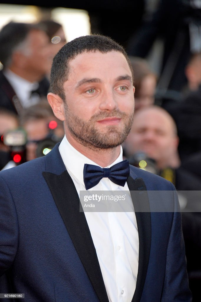 68th Cannes Film Festival. French actor Guillaume Gouix walking up the famous steps before the screening of the film 'Inside Out' (French: 'Vice-Versa') on .