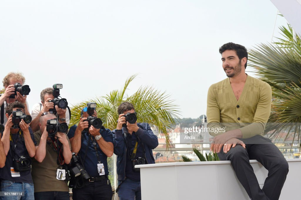 68th Cannes Film Festival. French actor Tahar Rahim, 'Un Certain Regard' jury member, posing for a photocall on .