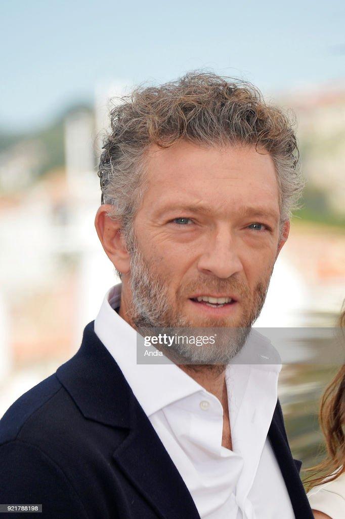Actor Vincent Cassel. : News Photo