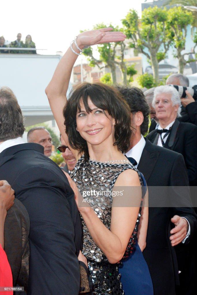 Actress and filmmaker Sophie Marceau. : News Photo