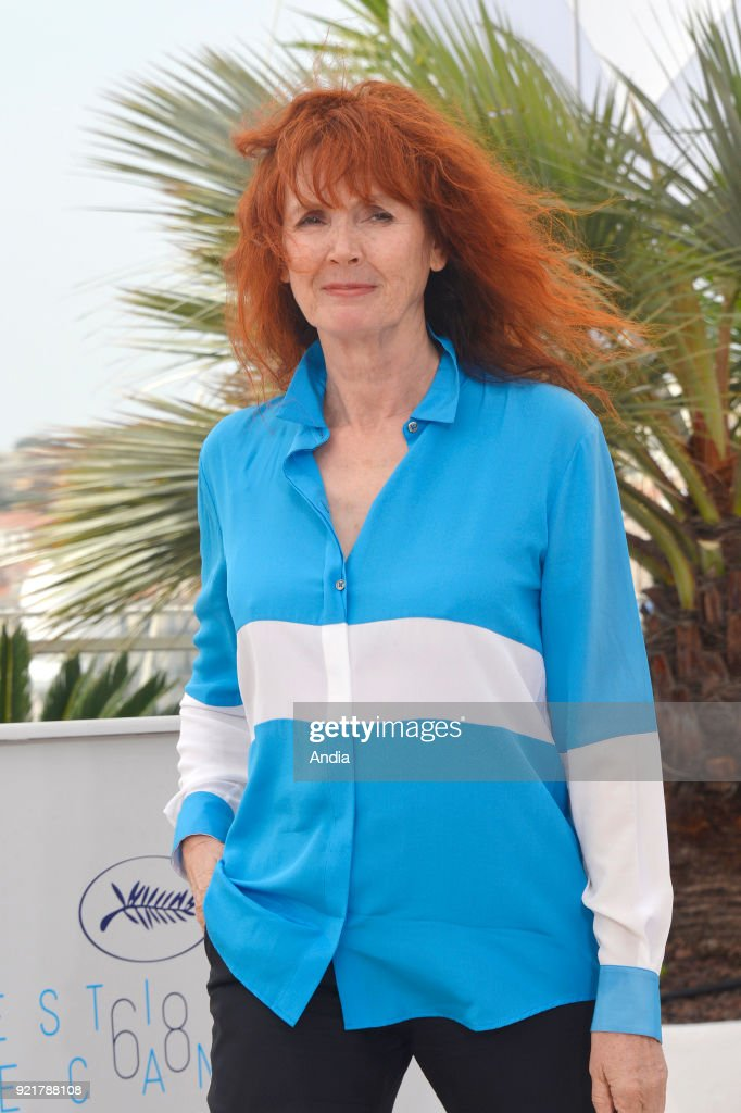 Actress and filmmaker Sabine Azema. : News Photo