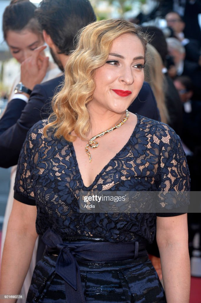 68th Cannes Film Festival. French actress Marilou Berry walking up the famous steps before the screening of the film 'Inside Out' (French: 'Vice-Versa') on .