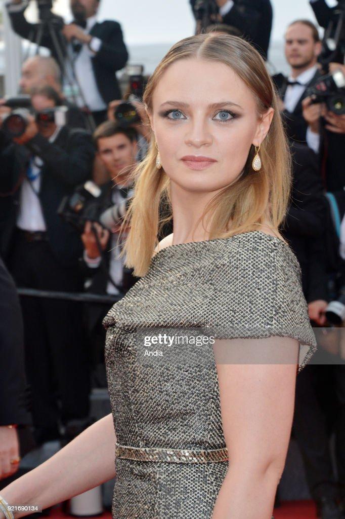 Actress Sara Forestier. : News Photo