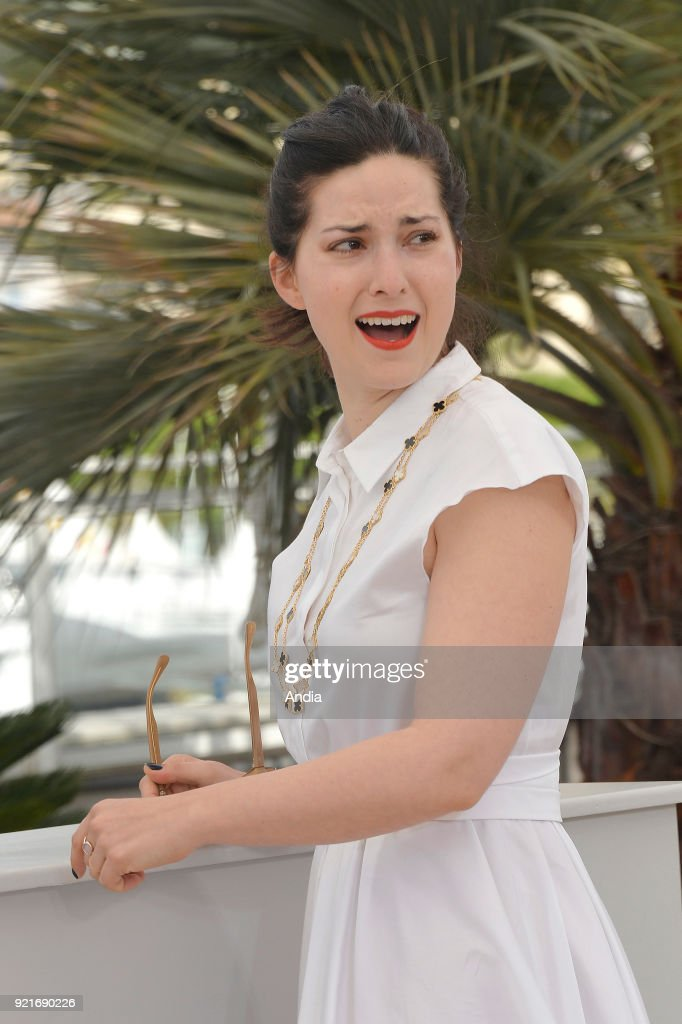 68th Cannes Film Festival. French filmmaker and scriptwriter Rebecca Zlotowski posing during the 'Jury De La Cinefondation Et Des Courts Metrages' Photocall on .