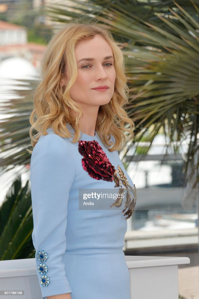 68th Cannes Film Festival. German actress and top model Diane Kruger posing during a photocall for the film 'Maryland - Disorder' on .