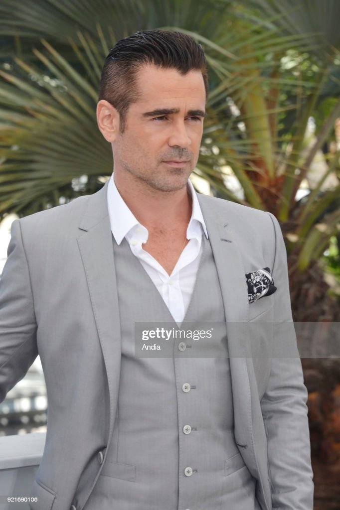 68th Cannes Film Festival. Irish actor Colin Farrell posing during a photocall for the film 'The Lobster', on .