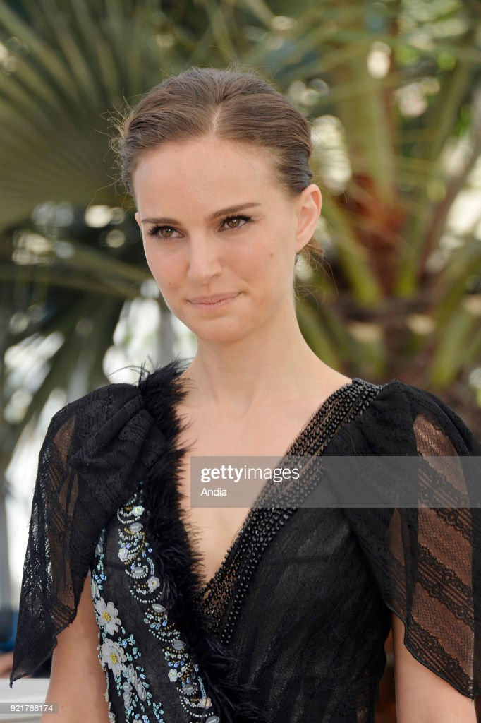 68th Cannes Film Festival. Israeli-American actress and director Natalie Portman posing during a photocall for her film 'A Tale of Love and Darkness' on .