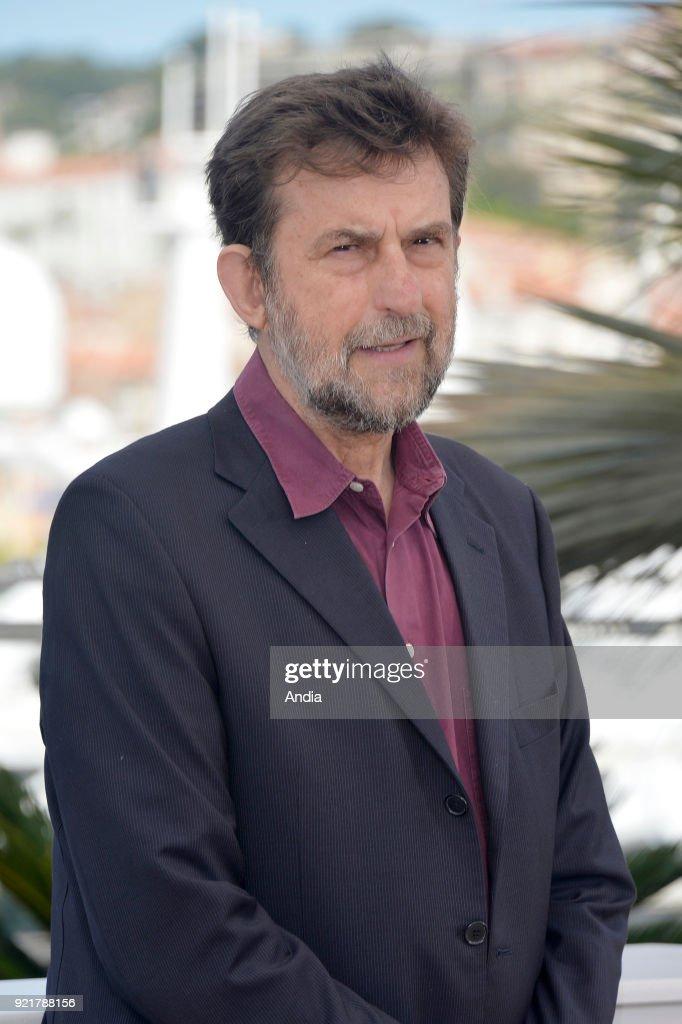 68th Cannes Film Festival. Italian director Nanni Moretti posing during a photocall for his film 'Mia Madre' on .