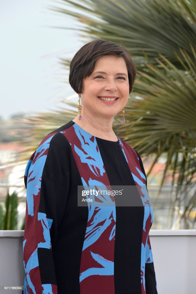 Actress Isabella Rossellini. : News Photo