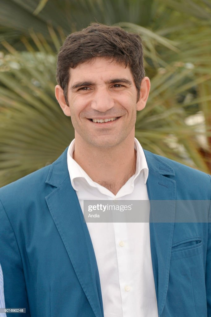 68th Cannes Film Festival. Romanian actor Cuzin Toma posing during a photocall for the film 'The Treasure' (Romanian: 'Comoara') on .