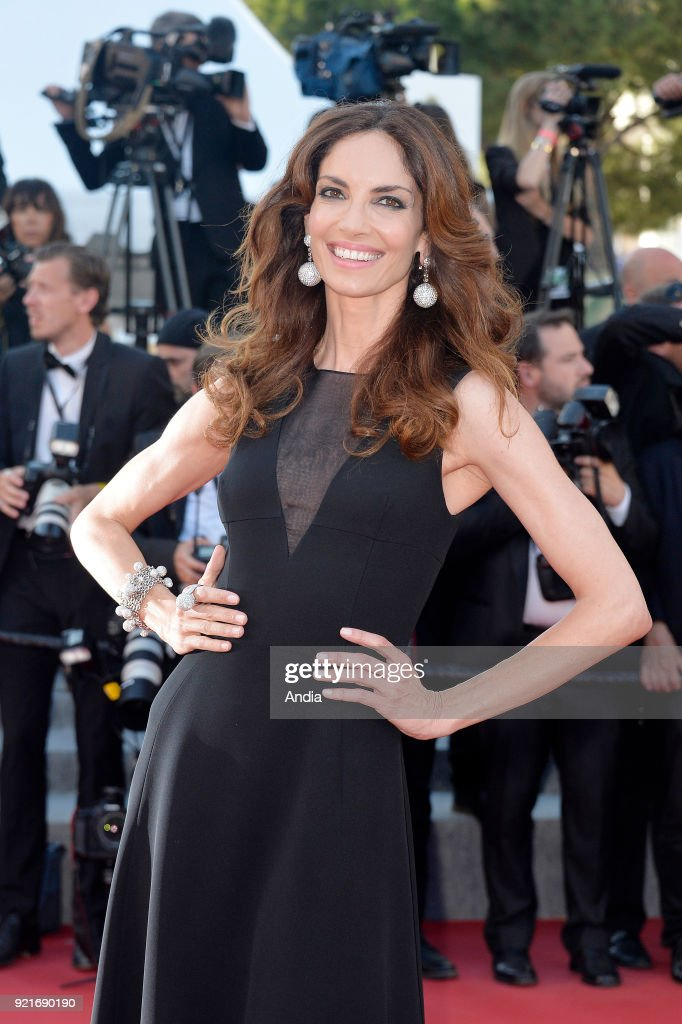 68th Cannes Film Festival. Spanish model Eugenia Silva walking up the famous steps before the screening of the film 'Inside Out' (French: 'Vice-Versa') on .
