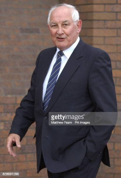 68yearold Ivor Payne from Bournemouth Hampshire outside Harrow Crown Court The court heard that Mr Payne who is facing a charge of indecent assualt...