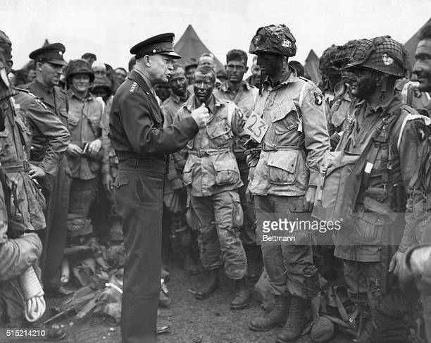 6/9/1944England General Dwight D Eisenhower Supreme Commander of the Allied Expeditionary Forces gives the order of the day Full VictoryNothing Else...