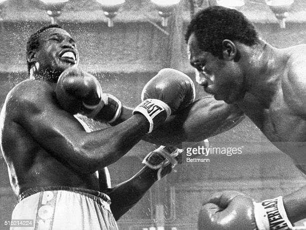 6/9/1978Las Vegas NV WBC heavyweight champion Larry Holmes survived blows like this in the 15th round from Ken Norton to score a split decision at...