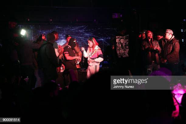 6ix9ine performs at FREQ NYC on December 30 2017 in New York City