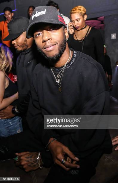 6lack celebrates his Grammy nominations at Mr Jones on November 29 2017 in Miami Florida