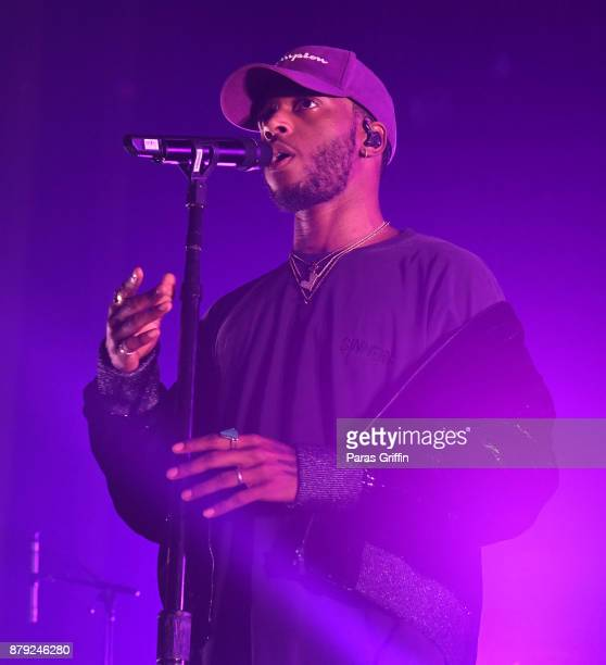 6lack performs in concert during 'Free6lack' tour at The Tabernacle on November 25 2017 in Atlanta Georgia