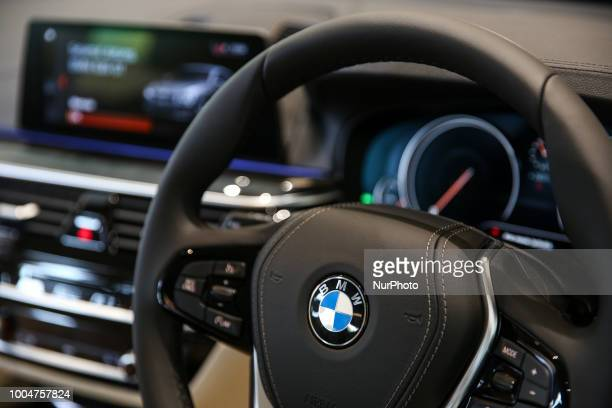 A BMW 6series Gran Turismo displayed during a media preview in Jakarta Indonesia on Tuesday July 24 2018